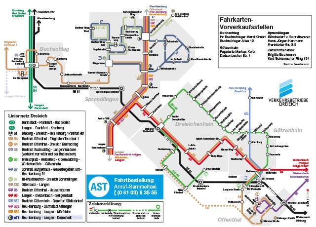 Liniennetzplan 2018