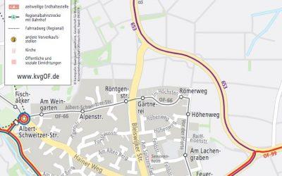 Umleitung –  Götzenhainer Kerb  vom 17. bis 24.9.2019