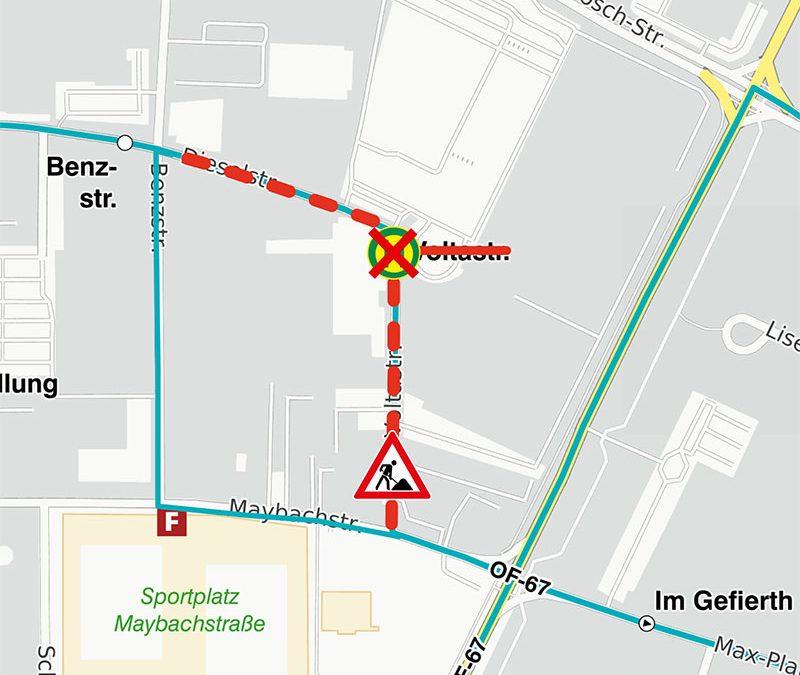 """Umbau der Bushaltestelle """"Sudetenring"""" beendet"""