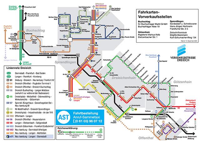 Liniennetzplan 2021